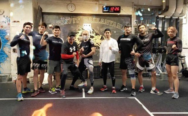 Another great workout with the team. #haleo @haleo_official @haleo_daikanyama @haleo_daikanyama_studio_ @yuutarouyamauchi @makihira1214 @k.kawashima1210 @michihiroomigawa @ashidatakahiro @tsuppy0918 @_itsuki_h_ @kana_0821
