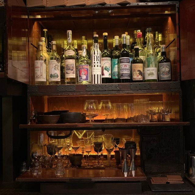 ABSINTHE- This post is for my mom, who loves Pernod. I rarely drink this but when I do... it's gotta be nothing but the best!  Here's a cabinet full of absinthe from around the world. Mom... we shall one day have one of these together! ;-) xoxo