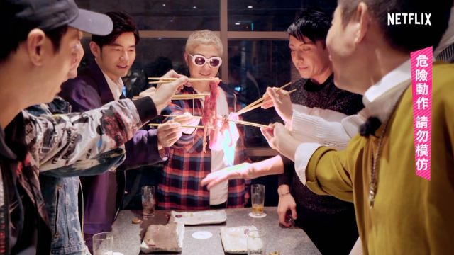 Who is tuning into NETFLIX tomorrow?  Make sure to set your alarm and watch me, @jaychou, @verbal_ambush @ryota_katayose_official light the screen on 🔥🔥🔥 !Tomorrow night (Saturday) at 23:00 Japan Time (available globally) on NETFLIX.  @willtsai @klmagic @makeup_ado #magic #jstyletrip #fire 明日みんな僕と一緒に@netflixを見ましょう! @jaychou (Jayチョウ)、@Verbal_ambush (バーバル)と @yota_katayose__official(片寄良太)と共に画面を燃え上がらせよう!お見逃しなく。 明日よる 土曜日23時(後11時)からNetflixで会いましょう!